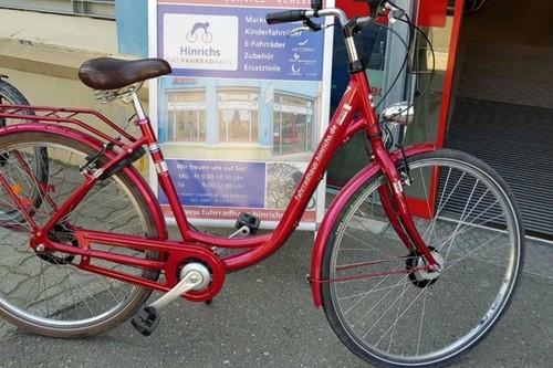 Hinrichs Citybike 3 Gang bike rental in Waren (Müritz)