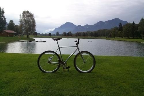 Einzig Schlechtwetterrad bike rental in Rosenheim