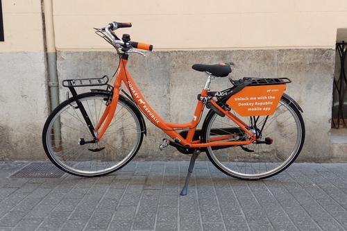 Alquiler de bicicletas Donkey Donkey Bike en Palma