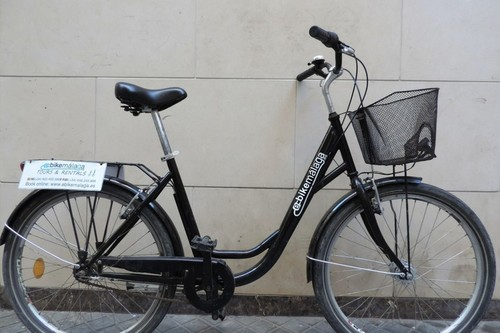 Alquiler de bicicletas Urbanbike City en Málaga