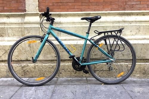 Alquiler de bicicletas Kona Hybrid en Málaga