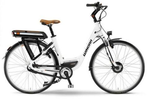 Alquiler de bicicletas Winora Comfort C0 E-Bike en Cala Millor, Majorca