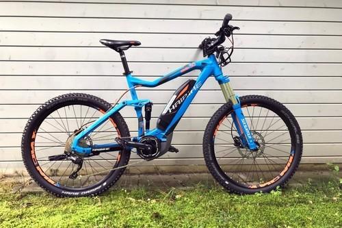 HAIBIKE AllMtn 5.0 bike rental in Prien am Chiemsee