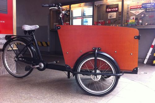 Babboe Big bike rental in Düsseldorf