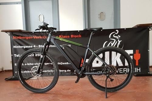 Steppenwolf Timber E bike rental in Südharz