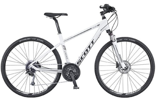 Alquiler de bicicletas Scott Sub Cross en Maspalomas