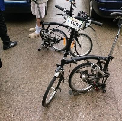 Brompton Black Brompton Bike fietsverhuur Barcelona