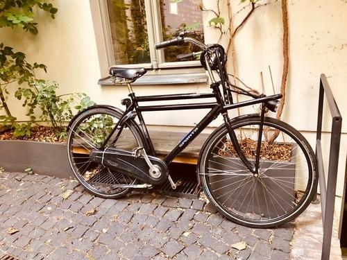 Sparta Pick-up City fietsverhuur Berlin