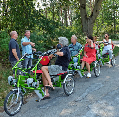 Van Raam 2er grün 4h bike rental in Raesfeld