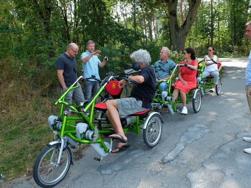 Van Raam 2er grün bike rental in Raesfeld