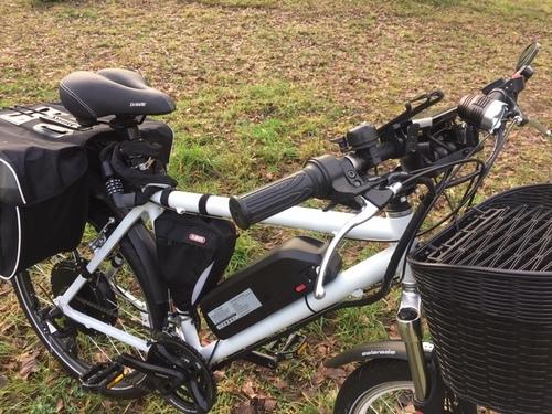 "Voilamart 26"" 1000W/48V bike rental in Berlin"