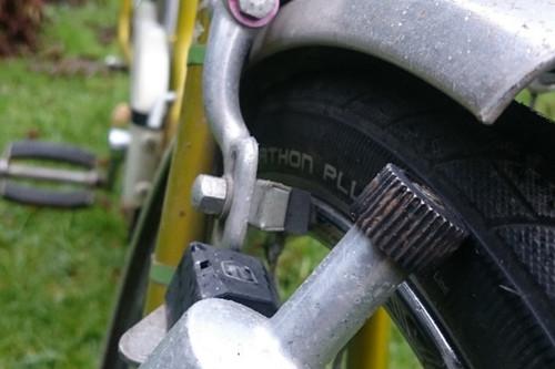 Herkules Klapprad 2-Gang bike rental in Lübeck