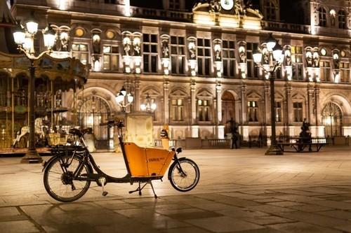 Alquiler de bicicletas Babboe Mini en Paris