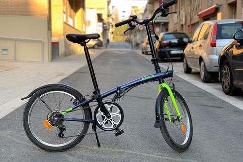 Location vélo Decathlon Btwin Tilt 120 à Barcelona