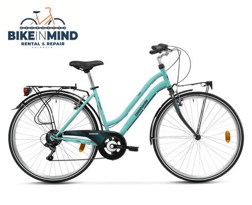 """Alquiler de bicicletas Lombardo City Bike 28"""" en Valencia"""