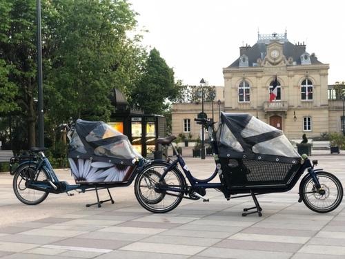 Alquiler de bicicletas Bakfiets Électrique Shadow NuVinci en Paris