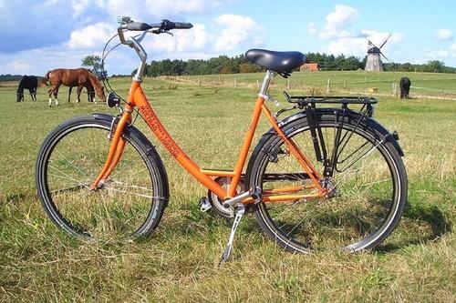Mietrad-Usedom Citybike 3-Gänge bike rental in Seebad Ahlbeck