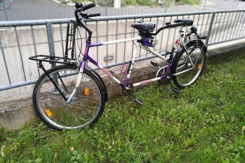 """Schauff """"Violetta"""" das Tandem bike rental in Bonn"""