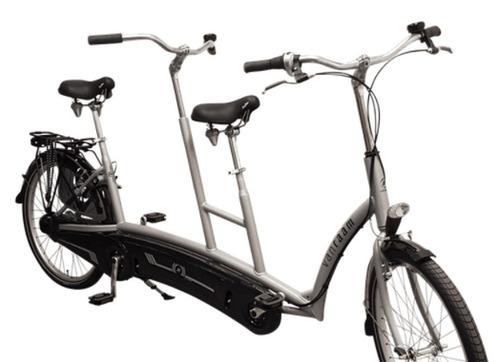 Alquiler de bicicletas Van Raam Tandem en Bergen aan Zee