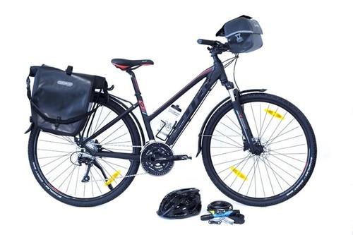 Scott SUB CROSS 20 MSM bike rental in Ardevon