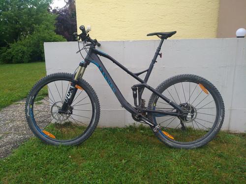 Canyon Al 6.9 bike rental in München