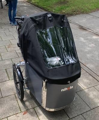 Nihola e-Family Promovec bike rental in München