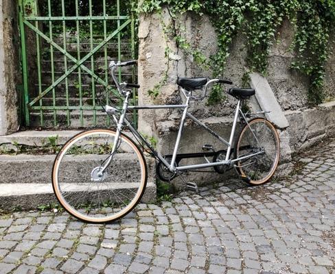 Joung Line Tandem Duo bike rental in münchen