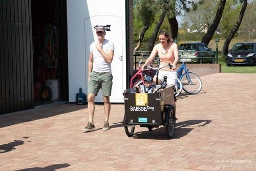 Babboe E-Babboe big/dog bike rental in Ouddorp