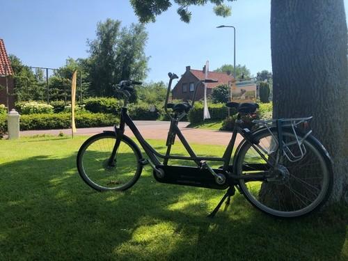 O-O-tandem Onderwater bike rental in Ouddorp