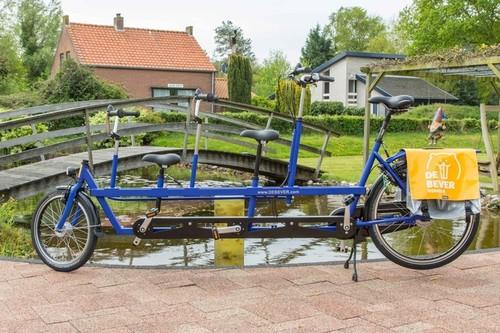 K-K-O-tandem Onderwater bike rental in Ouddorp