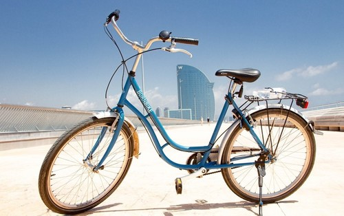 Born Bike Tours Barcelona Meyer City Bike bike rental in Barcelona