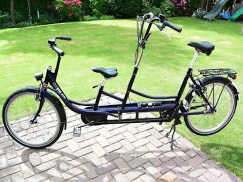 Tandem OUDER-KIND TANDEM bike rental in Maarssen