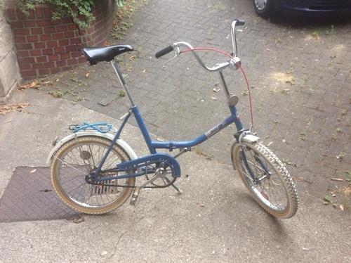 aucm Klapprad aus Weißrussland bike rental in Münster