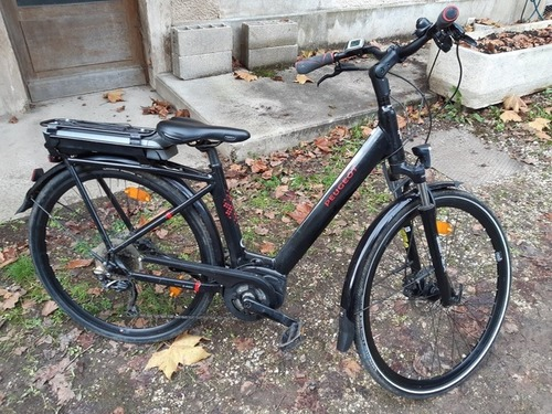 Peugeot eCO1 bike rental in Dijon