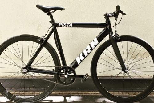 KRN Pista Single Speed Aluminum fietsverhuur Barcelona