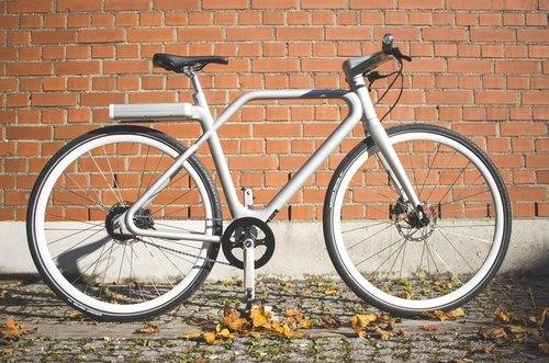 Angell Model Silver bike rental in München