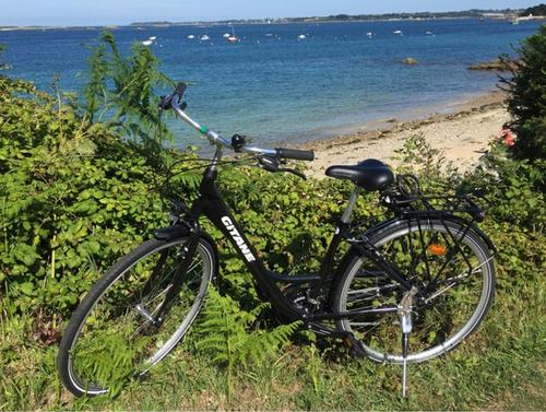 Gitane VTC - femme bike rental in Pordic