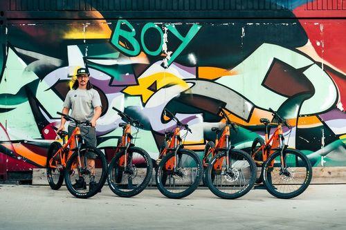 Mondraker Chaser bike rental in Freiburg im Breisgau