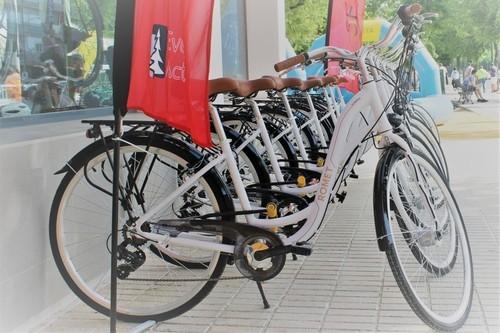 ROMET VINTAGE BLANCA MARRÓN bike rental in Sevillla