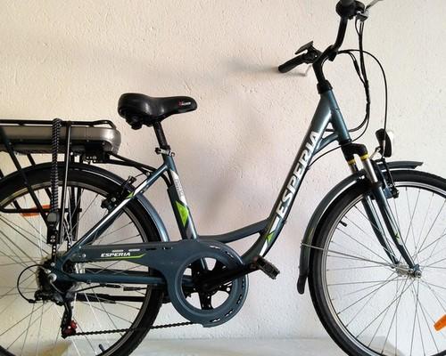ESPERIA Provence bike rental in Valaurie