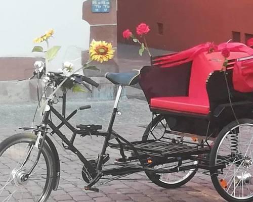 Rikscha  Asiatisch bike rental in Freiburg im Breisgau
