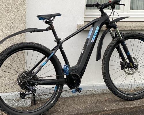 Cube Reaction Hybrid bike rental in Dusslingen