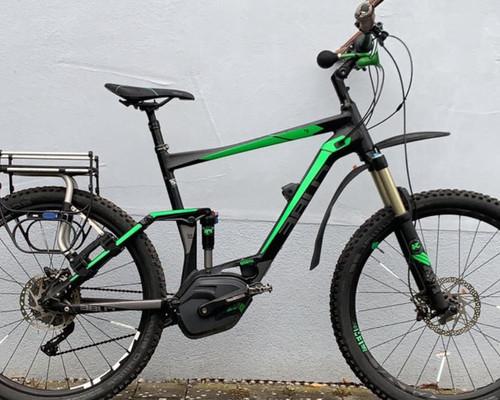 Cube Reaction Hybrid Fully bike rental in Dusslingen