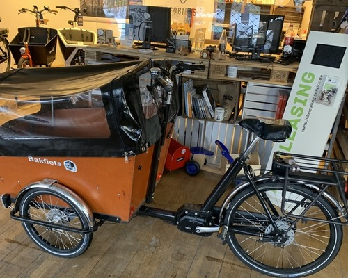 Bakfiets Trike Narrow Verleih in Hamburg
