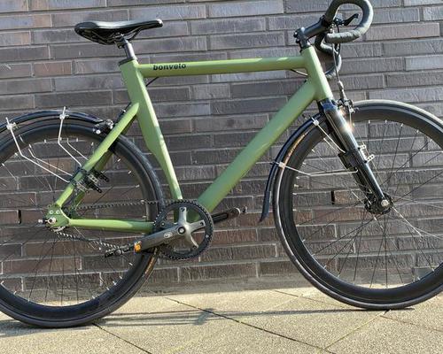 Bonvelo Rakede Carbon Drive fietsverhuur Düsseldorf