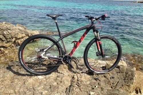 Felt nine 3 bike rental in ses Illetes