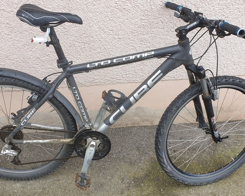 Cube LTD Comp bike rental in Freiburg im Breisgau