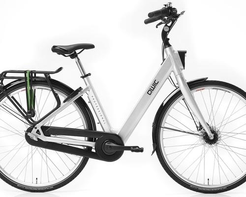Valk City bike QWIC Professional Verleih in Rotterdam
