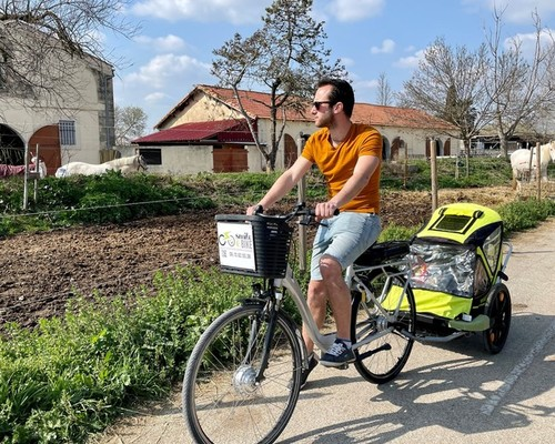 Gitane Sun-Ebike bike rental in Montpellier