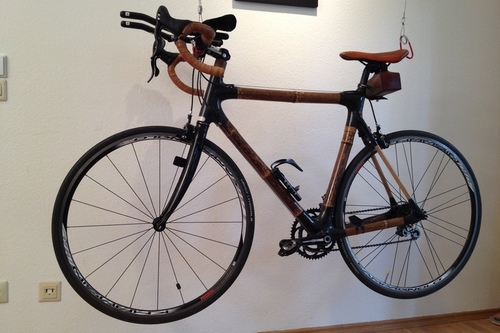 Ozon Bamboo Custom-made Bambus/Carbon bike rental in Berlin